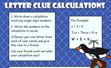 Letter Clue Calculations